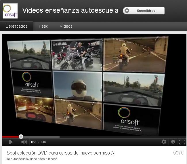 videos autoescuelas: