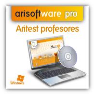 Aritest Profesores: gestión y edición de test - Programa para autoescuelas y centros de formación
