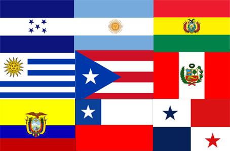 Banderas América Latina